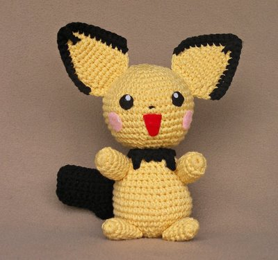 Ravelry: Pikachu Pokemon pattern by The Nerdy Knitter