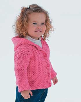 Free Crochet Pattern Toddler Girl Sweater : Adorable Toddler Crochet Pattern FaveCrafts.com