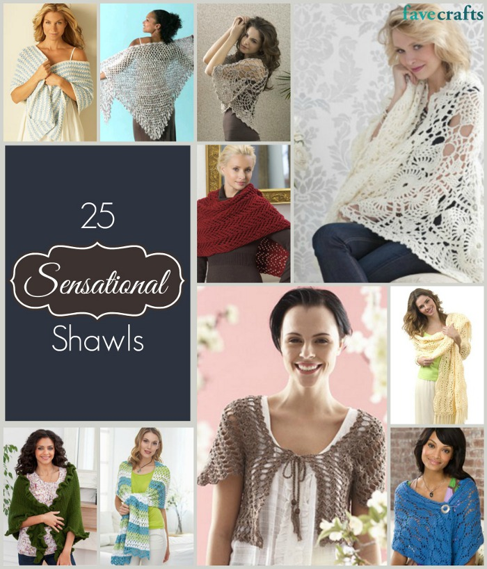 sensational shawls 16 Sensational Spring and Summer Shawls