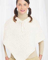 Sugar'n Cream - Easy Ponchos (crochet)