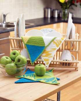 Crochet Springtime Cloth