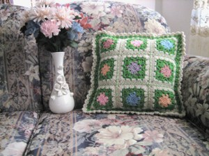 The Flowers of Spring Pillow