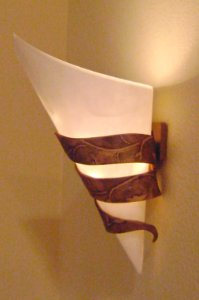 Daring DIY Wall Sconce