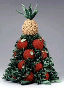 Apple and Pineapple Topiary