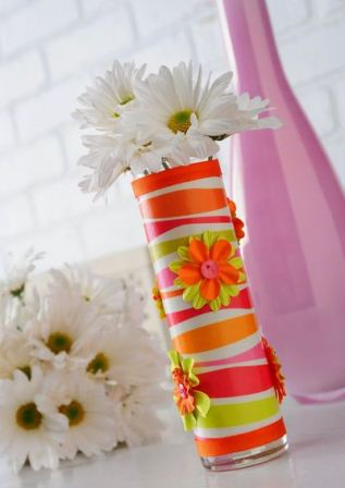 Craft Ideas  Bangles on Crafts Project  Use Your Favorite Scrapbook Paper  Ribbon And