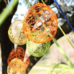 Decorative Yarn Globes