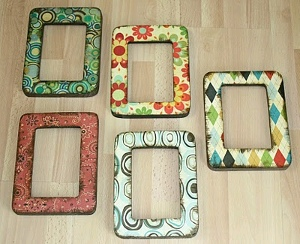 Easy Decoupage Frame