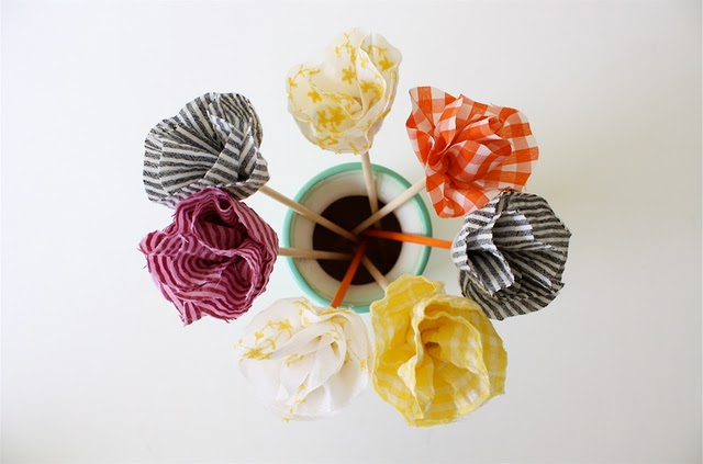 No Sew Flowers Bouquet