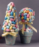 Pastel Candy Tree Decorations