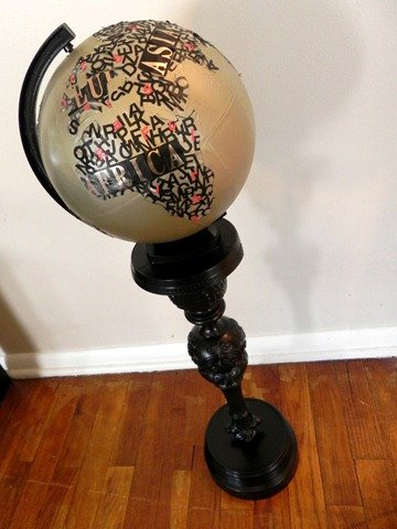 Typographical Globe