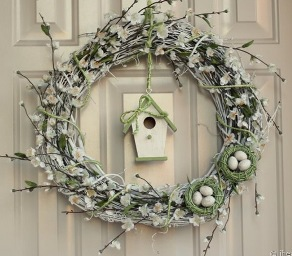 Cherry Blossom Wreath How to Find Home Decor Craft Ideas