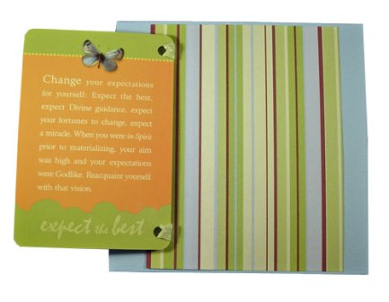 Attitude of Gratitude Card Open