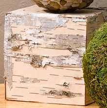 Birch Bark Cubes