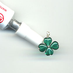 Four Leaf Clover Charm Step 4