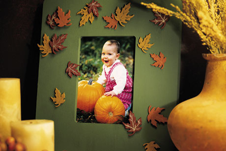 Fall Decorative Picture Frame