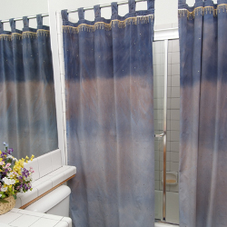 fashion shower curtains How to Craft for Charity