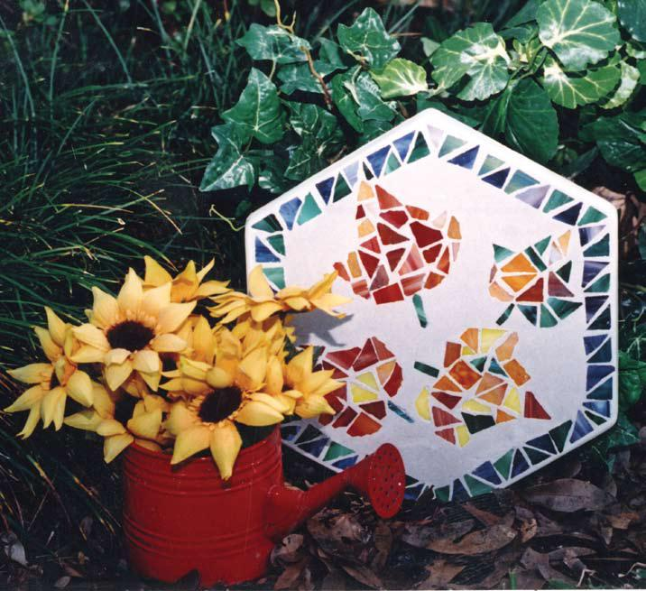 Mosaic Stone Garden Craft