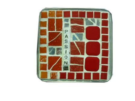 Mosaic Bath Jar Passion