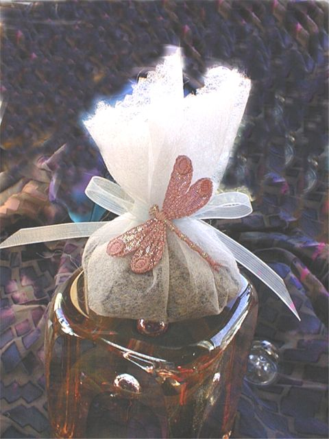 Lavender Sachet from Dryer Sheet
