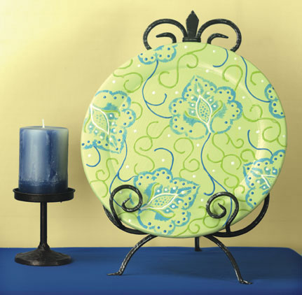 Swirls of Spring Plate