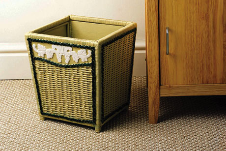 Willow Waste Basket