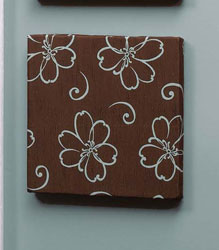 Chocolate Flower Wall Art