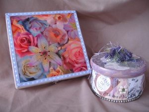 Decoupage Gift Box