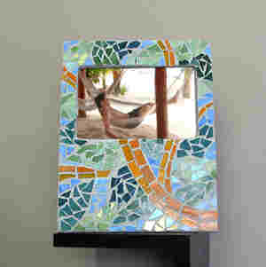 Rainforest Mosaic Frame