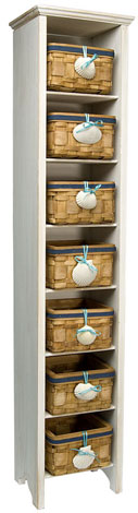 Ocean Basket Shelf Unit