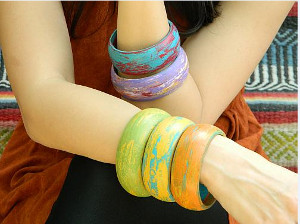 Luxurious Wooden Bangles