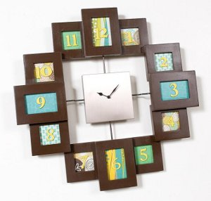 Hip to be Square Clock