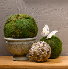 Moss Spheres Decorations
