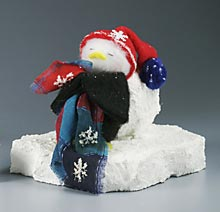 Dreaming Penguin Home Decoration