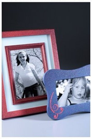 Sparkling Jeweled Photo Frames