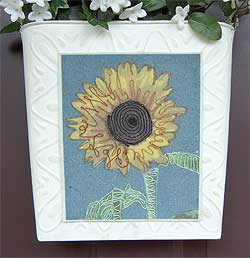 Sunflower Wall Pocket