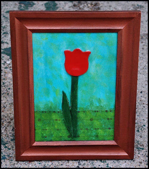 Tulip in a Frame