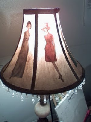 Vogue Fashion Lamp Shade