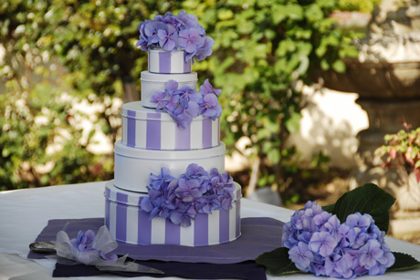Cake inspired Centerpiece