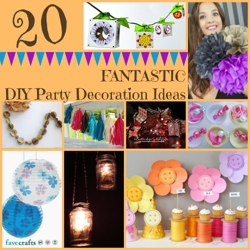 20 Fantastic Party Decorations