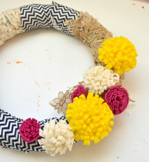 Marigold Wreath