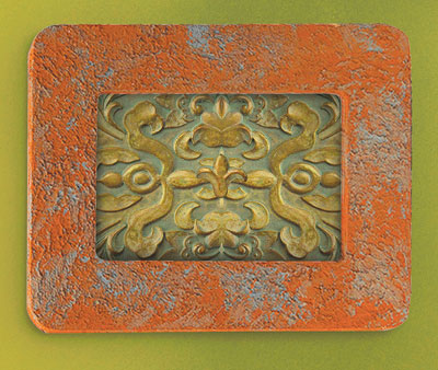 Terra Cotta Wall Frame
