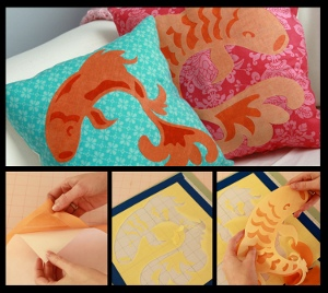 Exotic Koi Pillow
