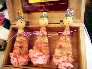 Glitter Dolls and Trees 8