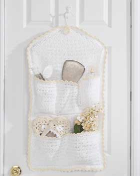 Crochet Hanging Storage