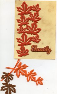 Fall Family Card