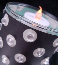 Decorative Paper Candle Cover