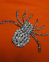 Halloween Spider Applique
