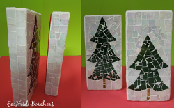 Mosaic Christmas Bricks