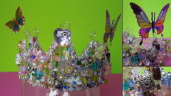 Beaded Dollar Store Crown