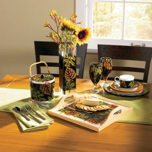 Colorful Leaves Dinnerware